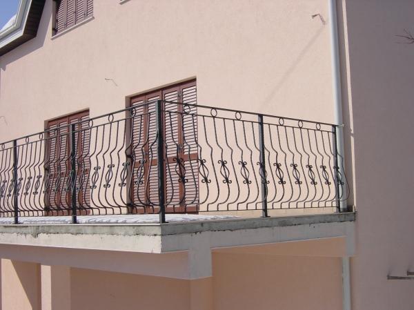 Балконные ограждения - фотокаталог - kovka tver.